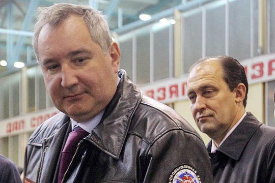 Дмитрий Рогозин и Олег Бочкарев