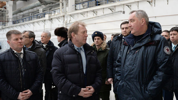 Дмитрий Рогозин и Алексей Варочко
