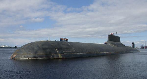 Тяжёлый ракетный подводный крейсер стратегического назначения проекта 941 «Дмитрий Донской».