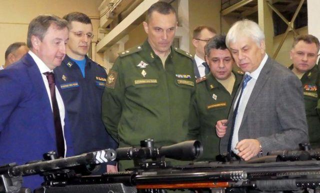 Доклад об особенностях новых образцов стрелкового оружия