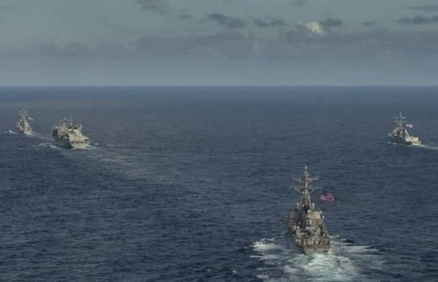 «Дональд Кук» ушёл: Боевые корабли ударной группы 6-го флота ВМС США покинули Арктику