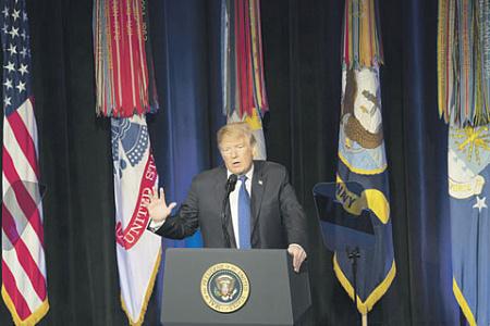 Дональд Трамп уверен в военном превосходстве Америки. Фото с сайта www.defense.gov