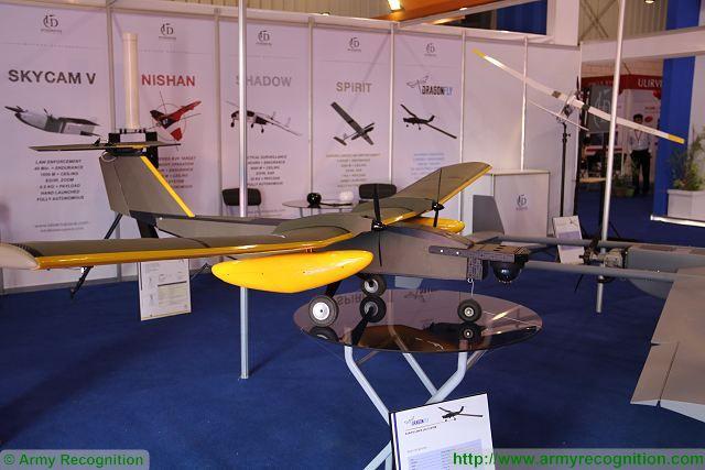 Пакистанский электрический беспилотник Dragon Fly.