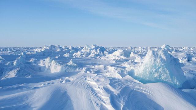 """Дрейфующий ледовый лагерь """"Барнео"""" в Арктике"""