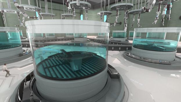 """BAE Systems демонстрирует """"выращивание"""" дронов в лабораторных условиях."""