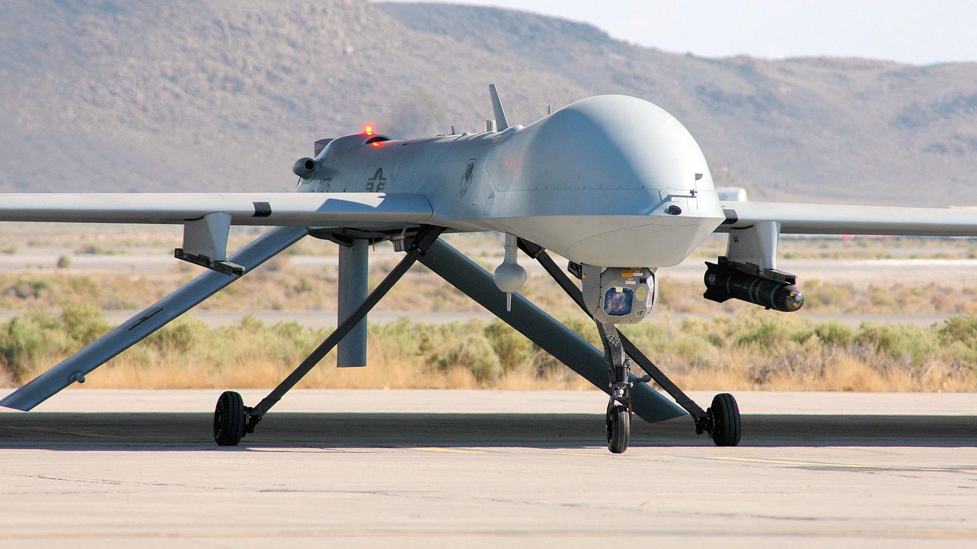 БЛА MQ-1B Predator.