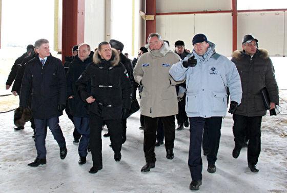 Дмитрий Рогозин на Восточном