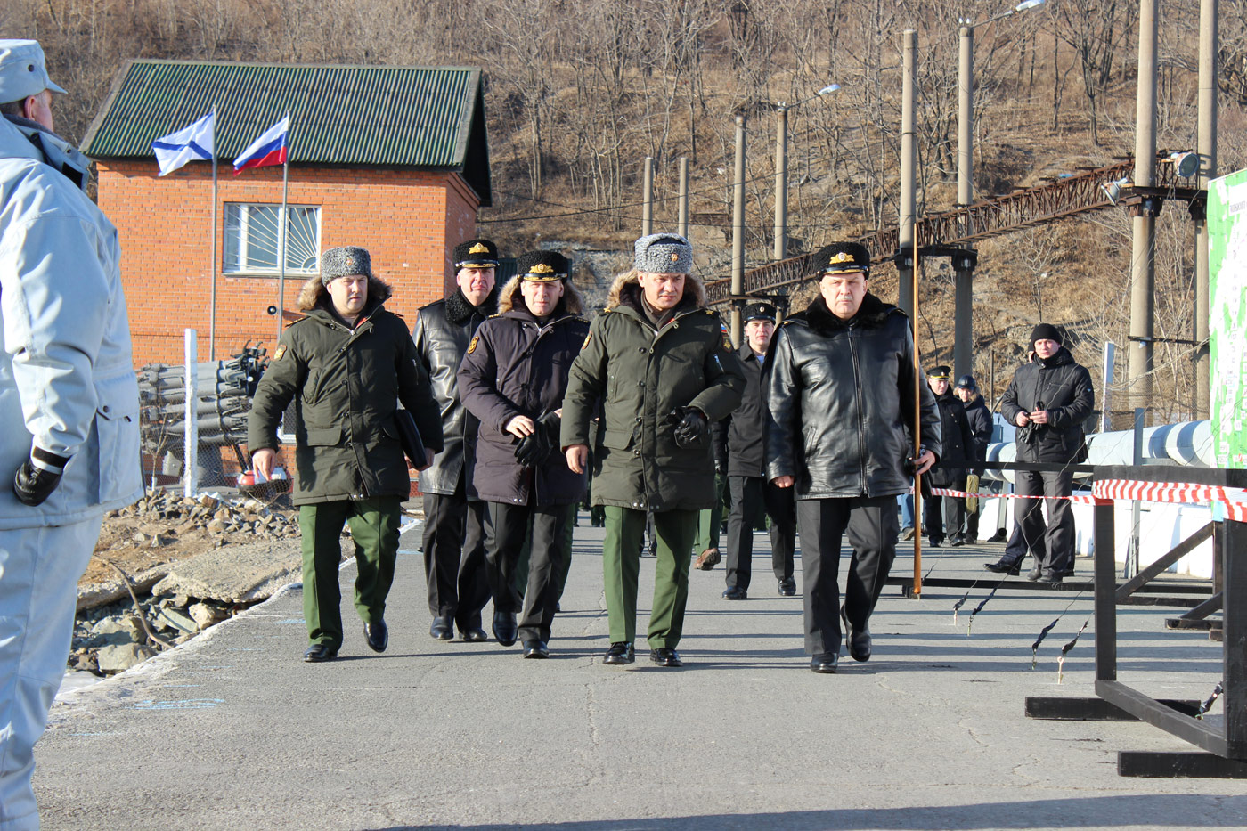 Рабочая поездка Министра обороны Российской Федерации генерала армии Сергея Шойгу во Владивосток.