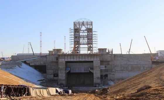 Армирование стартового сооружения космодрома Восточный