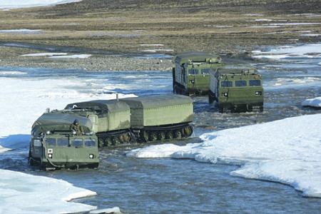 ДТ-30 оказались идеальными платформами для установки современного вооружения. Фото с сайта Министерства обороны РФ