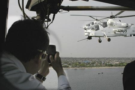 "Два ударных вертолета ""Руйвалк"""
