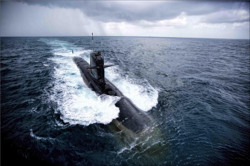 Головная дизель-электрическая подводная лодка ВМС Индии S 50 Kalvari.