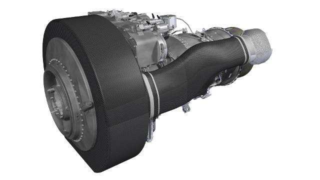 Вертолетный турбовальный двигатель Safran Aneto-1К.