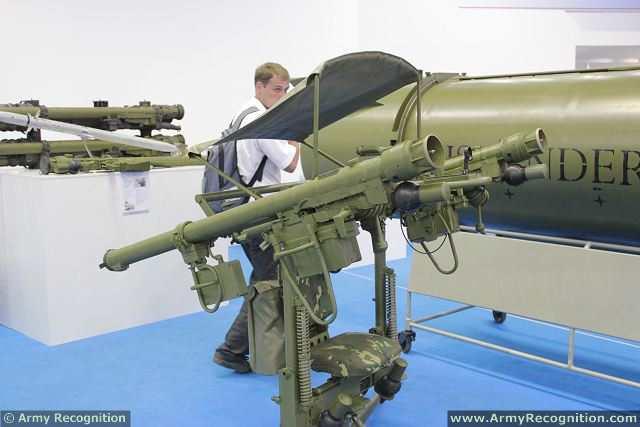 Российский легкий противовоздушный комплекс «Джигит» (Dzhighit), состоящий из из переносных ЗРК серии «Игла»