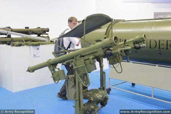 Российский легкий противовоздушный комплекс «Джигит»
