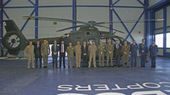 Вертолет EC135