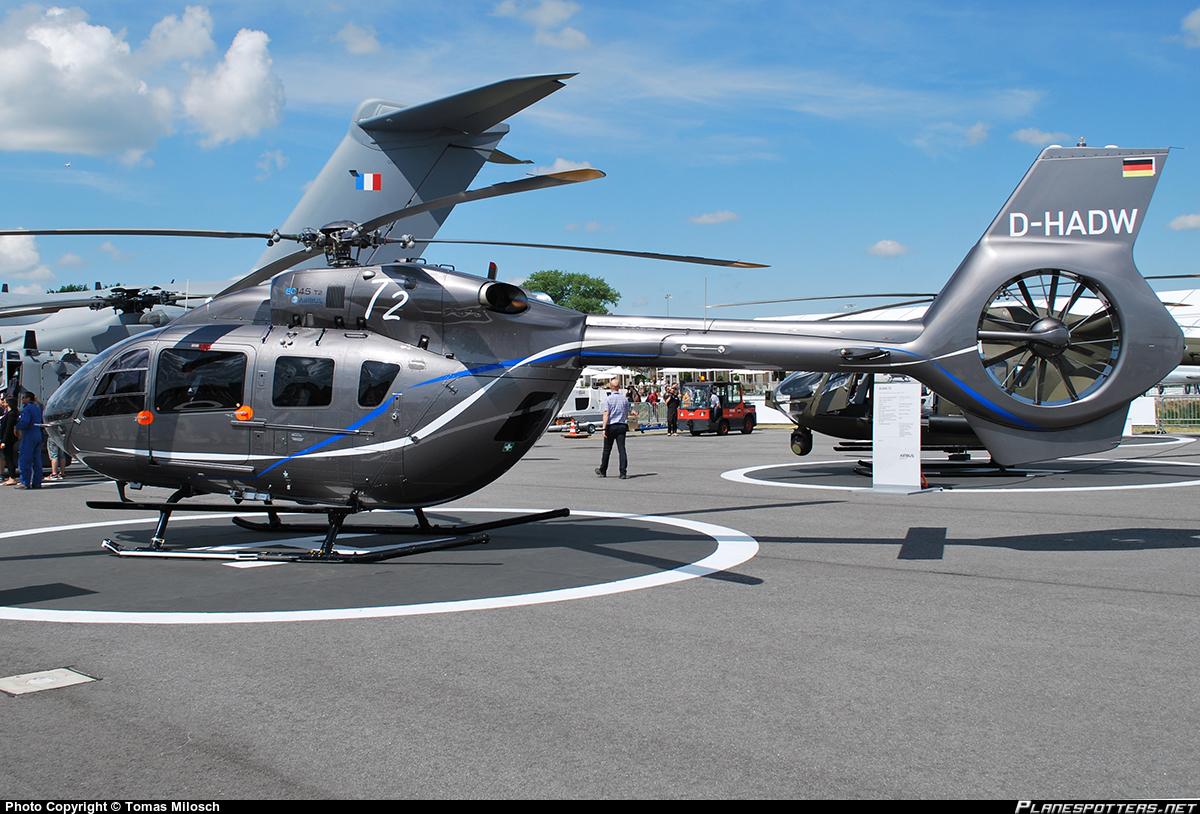 Вертолет Eurocopter EC145T2.