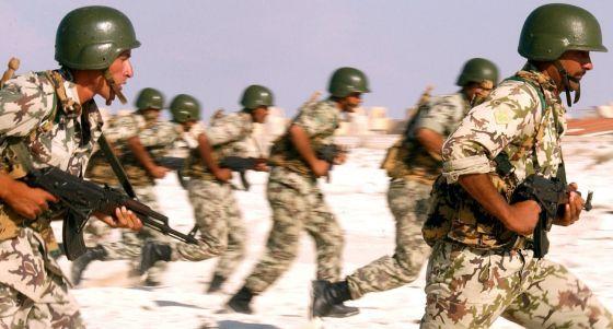 Военнослужащие армии Египта