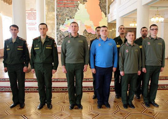 Личный состав Регионального центра управления обороной России