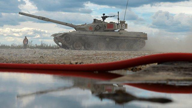 Экипаж танка Type 96 армии КНР. Архивное фото.