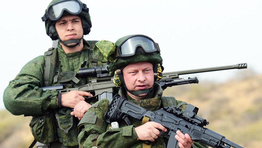 Экипировка для военнослужащих сухопутных войск Ратник.