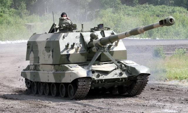 """Экспериментальный образец """"Изделия 350"""" — САУ 2С19М1-155 """"Мста-С"""""""
