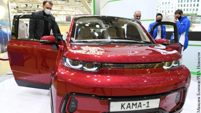 Электрокар «Кама-1»