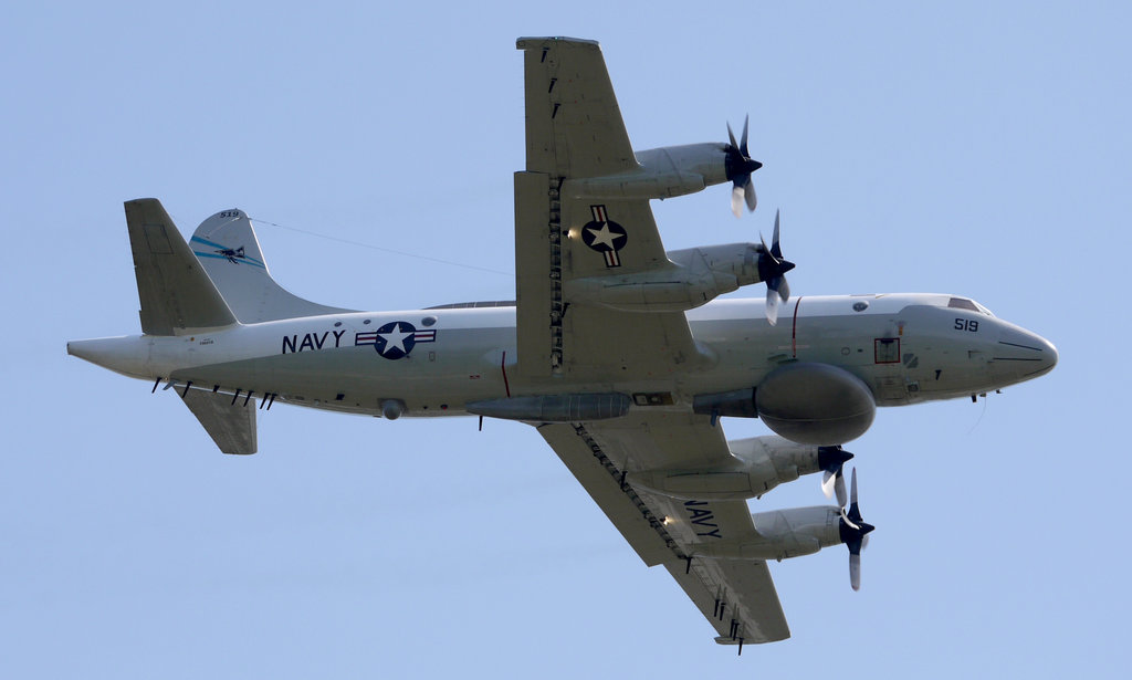 Самолет радиоэлектронной разведки EP-3C.