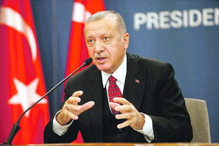 Эрдоган жестко отвергает все обвинения в агрессии по отношению к Сирии. Фото Reuters