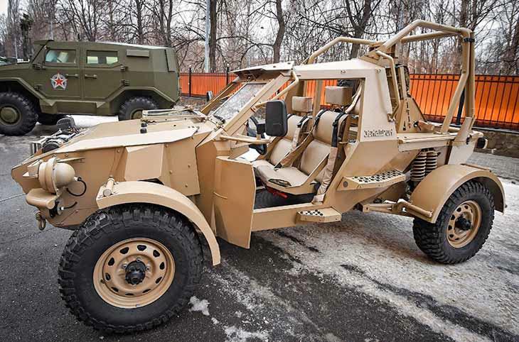 Аэромобильный багги «Эскадрон» консорциума ИНТРАЛЛ