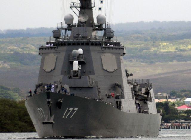 Эсминец Atago ВМС Японии