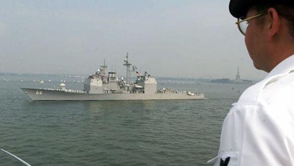 Эсминец USS Hue City. Архивное фото