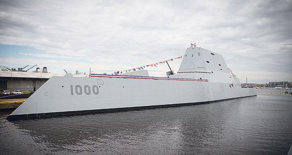 Эсминец USS Zumwalt (DDG-1000)