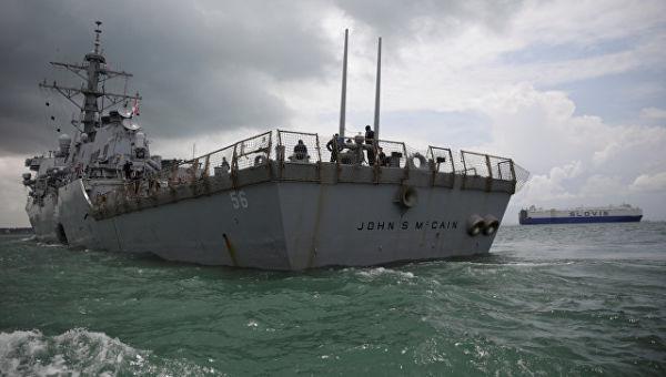 Эсминец ВМС США Джон Маккейн. Архивное фото