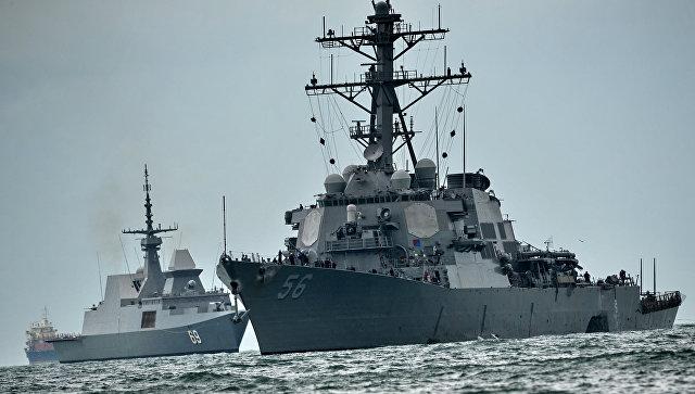 Эсминец ВМС США Джон Маккейн. Архивное фото.