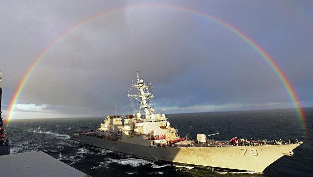 Эсминец ВМС США Портер.