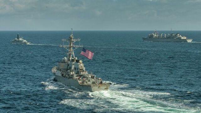 "Эсминец ВМС США ""Портер"""