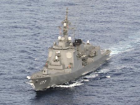 Эсминцы типа «Атаго» оснащены боевой системой «Иджис».