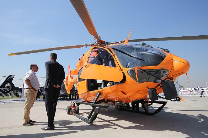 Многоцелевой вертолет Eurocopter EC 145.