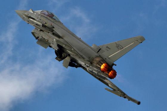 Истребитель Eurofighter F-2000A Typhoon