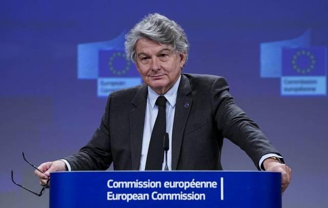 Еврокомиссар по вопросам внутреннего рынка Тьерри Бретон