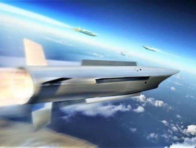 Модель ракеты-перехватчика MBDA