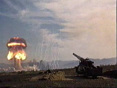 Испытание тактического ядерного оружия.