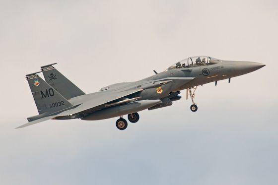 Истребитель Boeing F-15SG