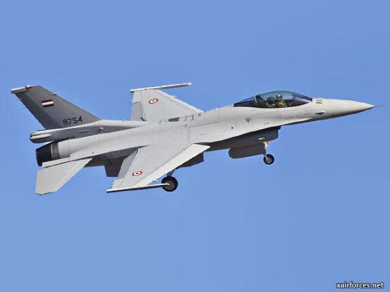 Истребителей F-16