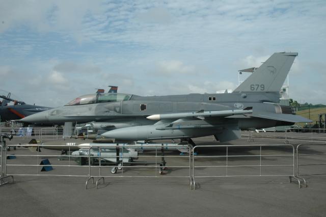 Истребитель F-16D Block 52 ВВС Сингапура