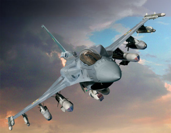 Самолет F-16IN Super Viper