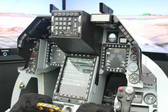 Тренажер истребителя F-16V