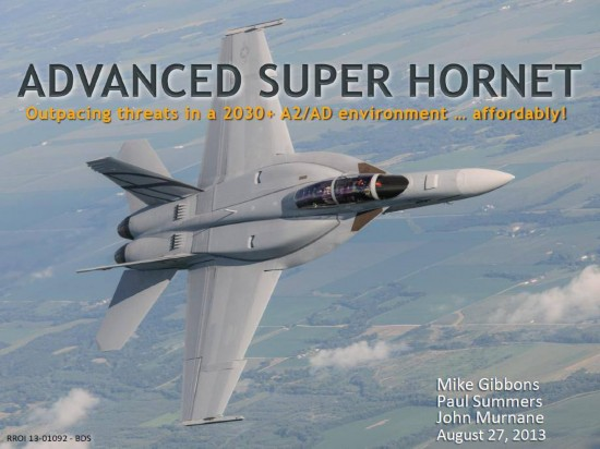 Истребитель F-18 Advanced Super Hornet (Silent Hornet)