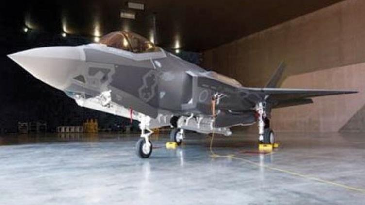 Первый японский F-35A.